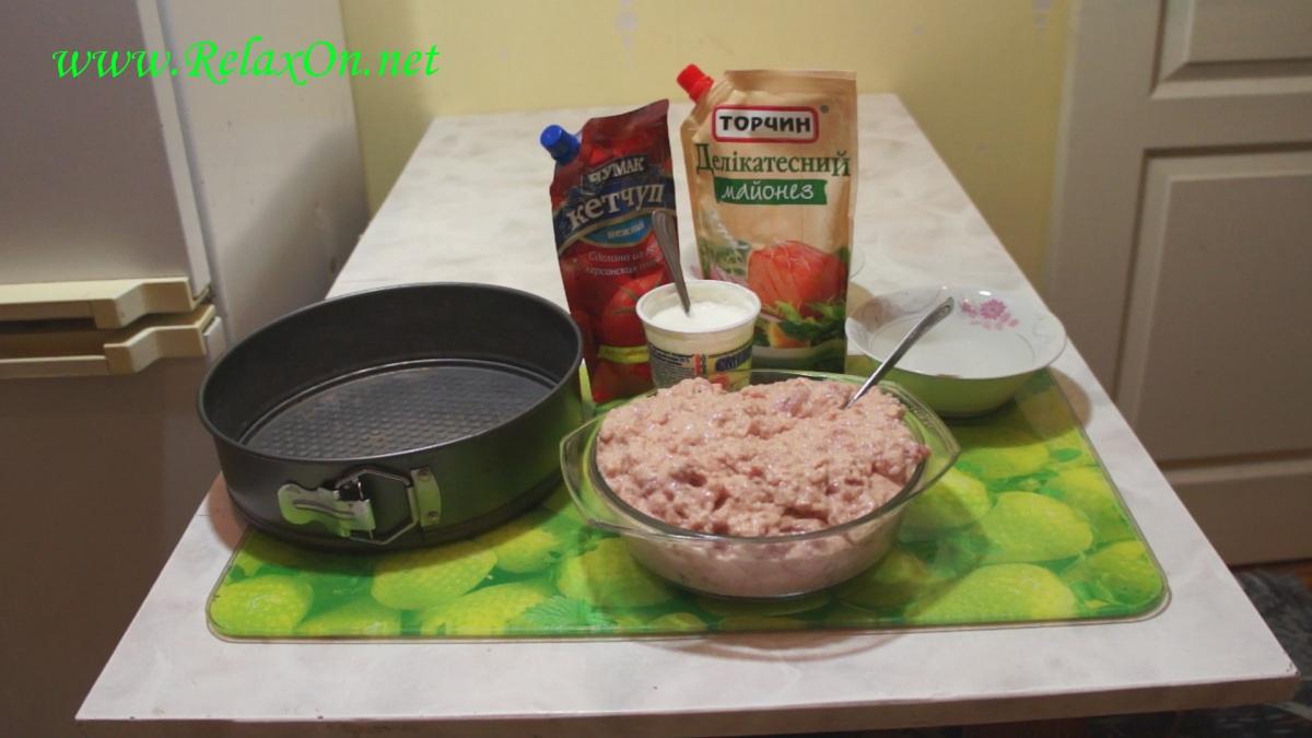 1- Ингредиенты для тефтелей