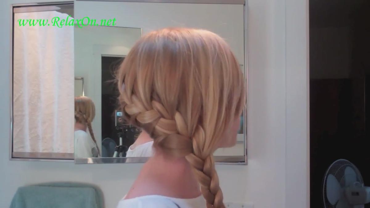 1- Прически на длинные и средние волосы- Французская коса