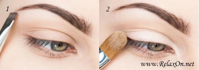 1 шаг осенний макияж