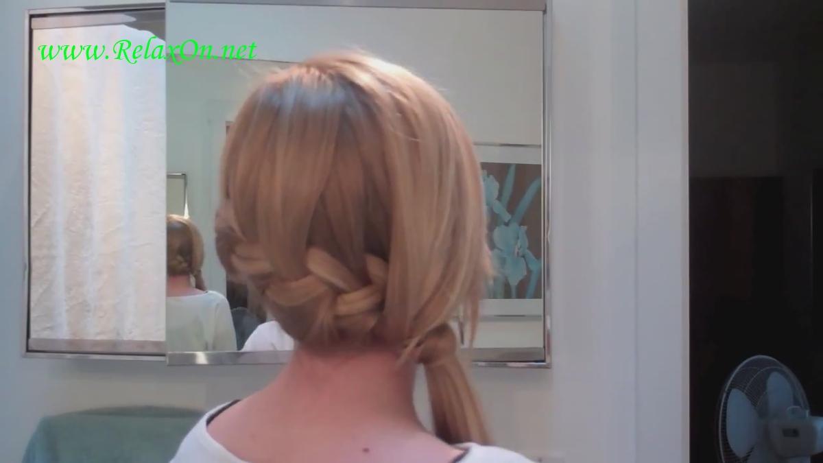 10  прически на длинные и средние волосы на основе французской косы