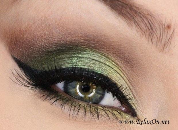 12-Макяж для зеленых глаз