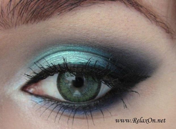 16-Макяж для зеленых глаз