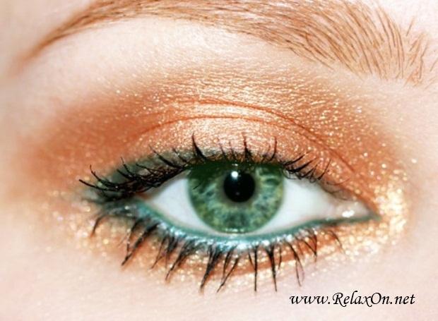 19-Макяж для зеленых глаз