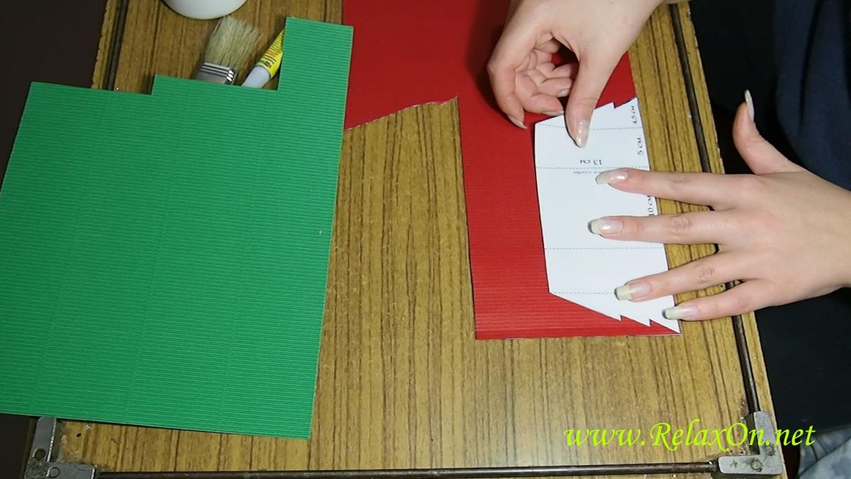 2- Как сделать открытку с шаблоном