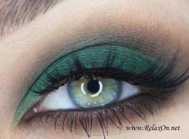 21-Макяж для зеленых глаз