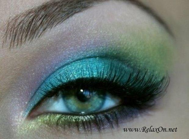 22-Макяж для зеленых глаз