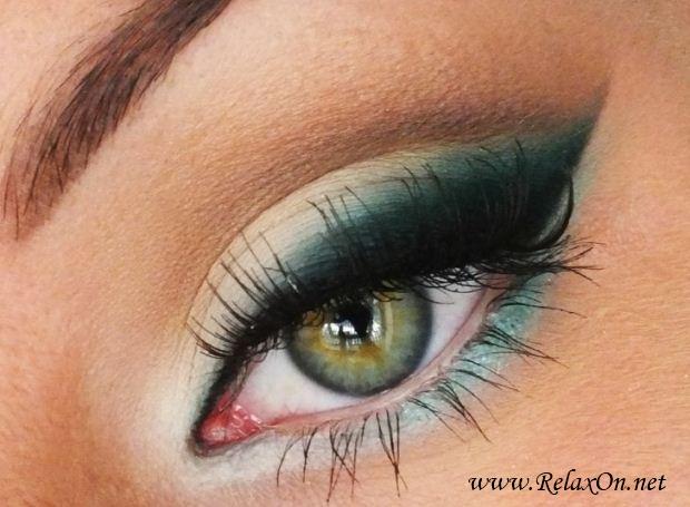 3-Макяж для зеленых глаз