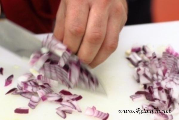 3-Салат из крабовых палочек с пекинской капустой пошагово