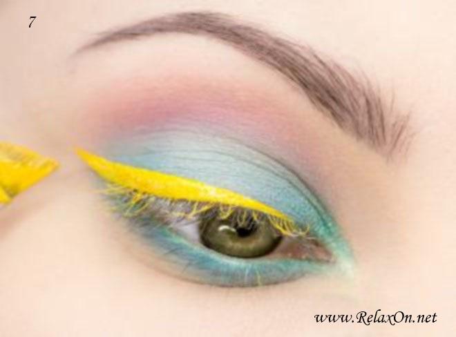 4-макияж для серо-зеленых глаз пошагово