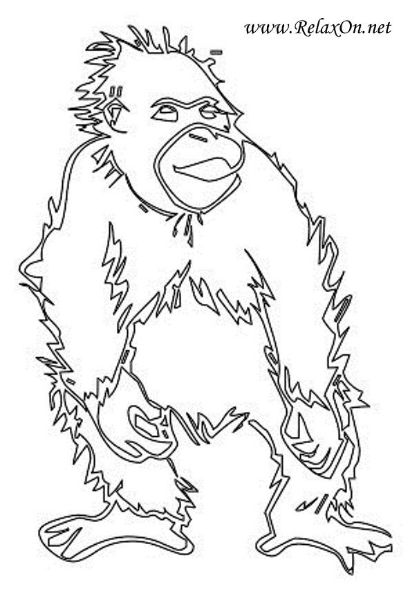 4-шаблон обезьяны