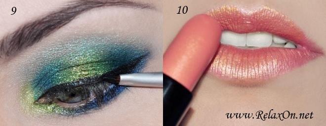 5 Пошаговый макияж для голубых глаз