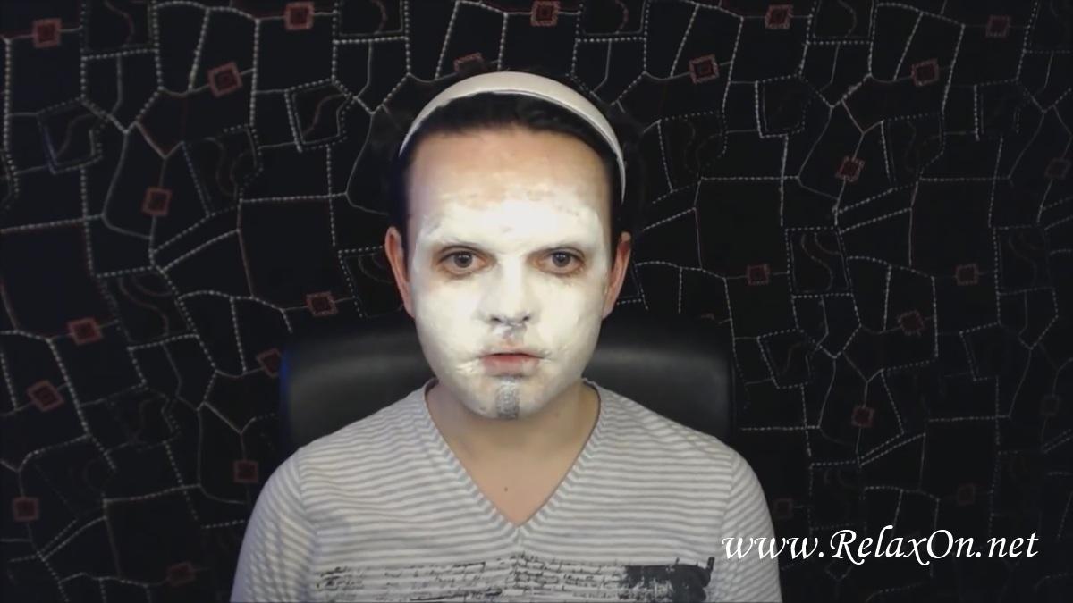 5- макияж Джеффа убийцы пошагово