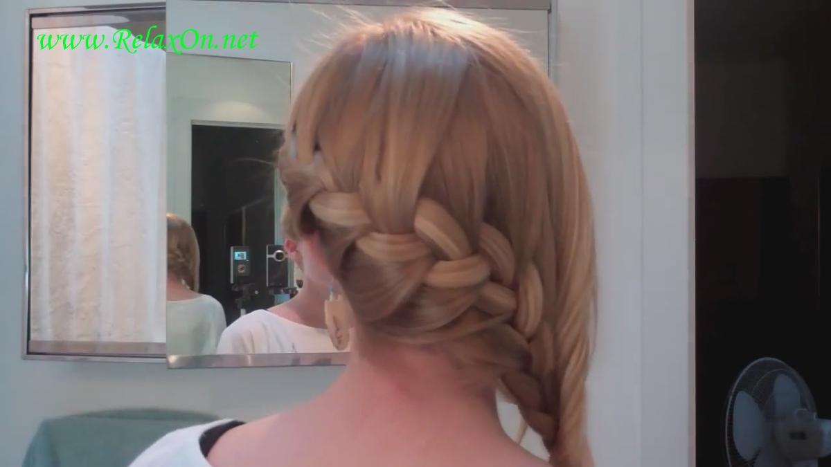 5  прически на длинные и средние волосы с оплетенной косичкой
