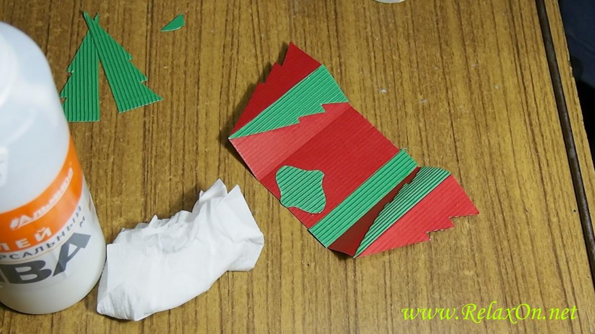 6- Новогодняя открытка своими руками