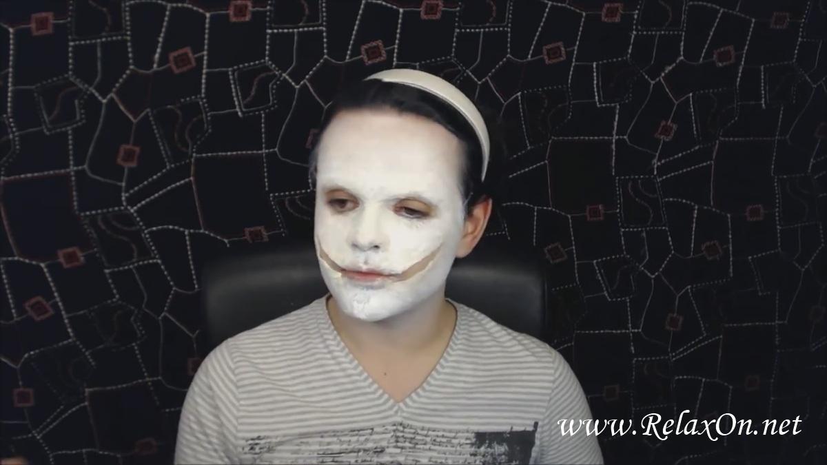 7- макияж Джеффа убийцы пошагово