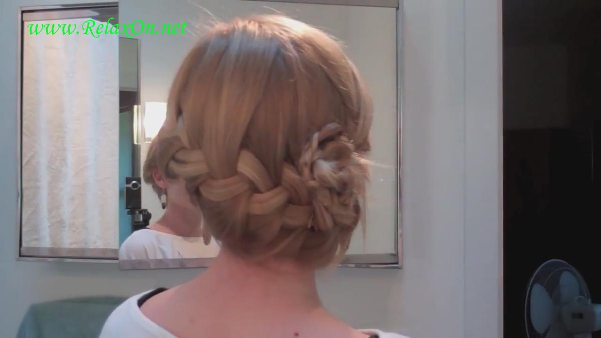 8  прически на длинные и средние волосы