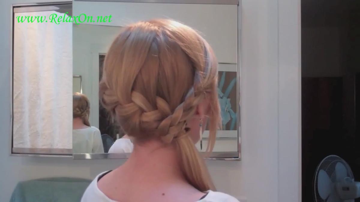 9  прически на длинные и средние волосы сочетани французской и классических кос