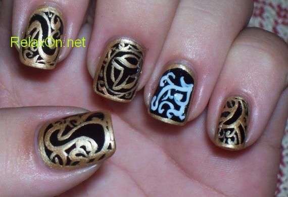 Фото маникюра на натуральных ногтях