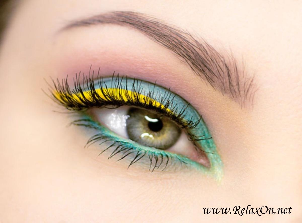 Макияж для серо зеленых глаз пошаговые фото