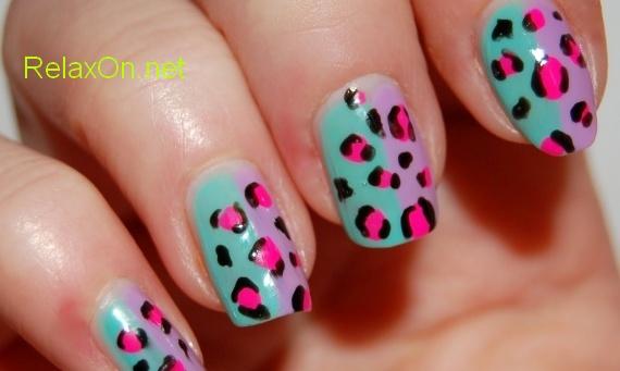 Натуральные ногти с маникюром