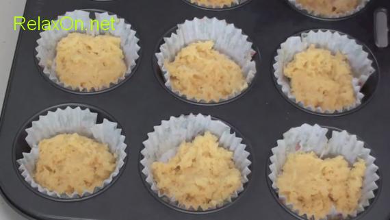Пошаговый рецепт кексов