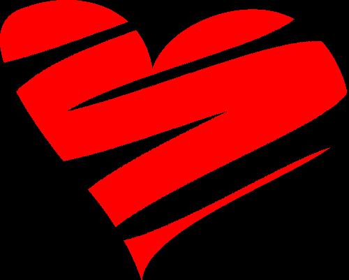 Трафарет на окно- креативное сердце