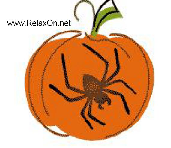 Трафарет паук