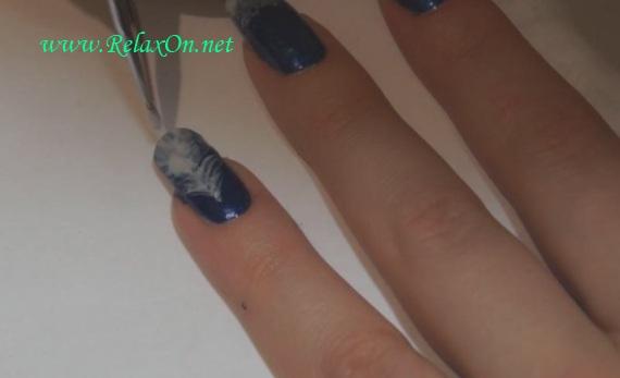 дизайн ногтей на новый год 3