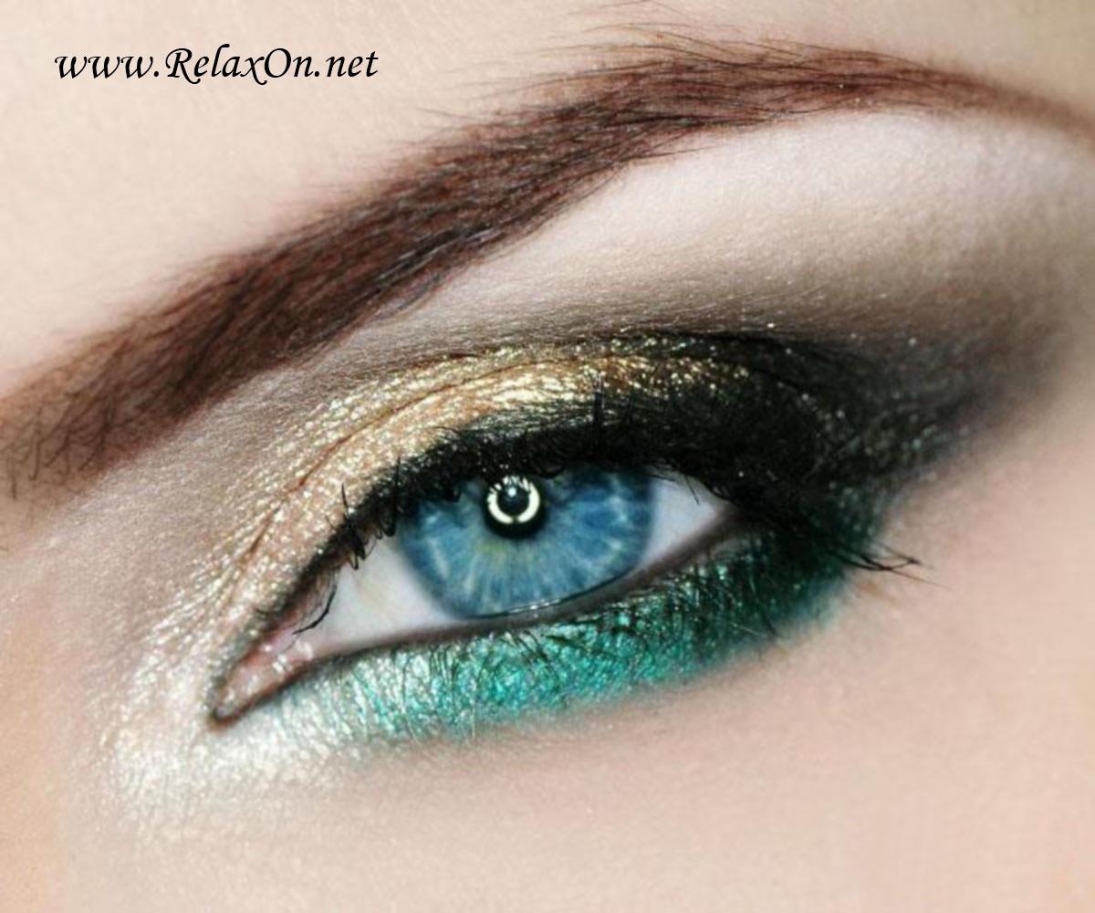 осенний макияж 4